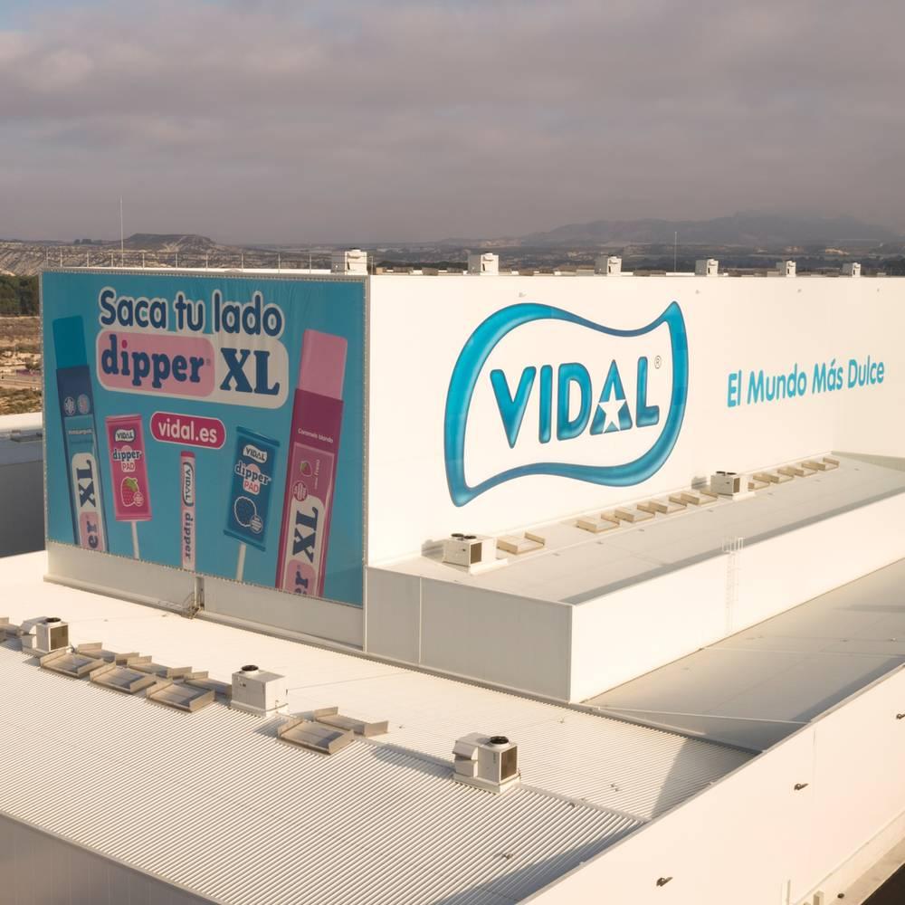 Vidal candies bereikt een dubbelcijferige omzetgroei
